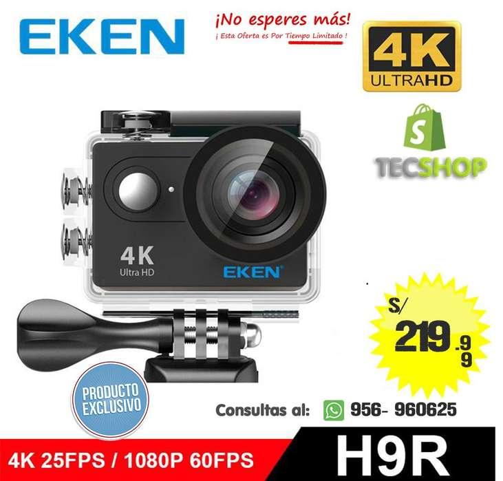 EKEN H9 4k, 2k, FULL HD 1080P 60fps ORIGINAL CÁMARA DE ACCIÓN CON LOGO