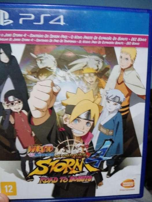 Juego de Ps4 de Naruto