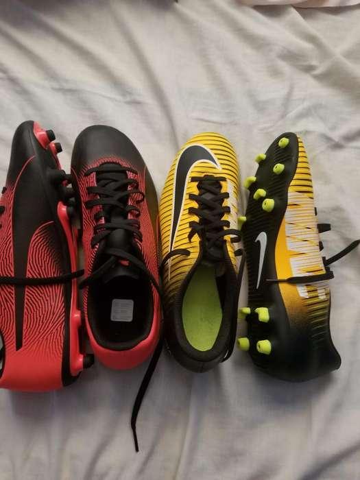 Pupos Nike 80 Los Amarillos, 90 Los Rojo
