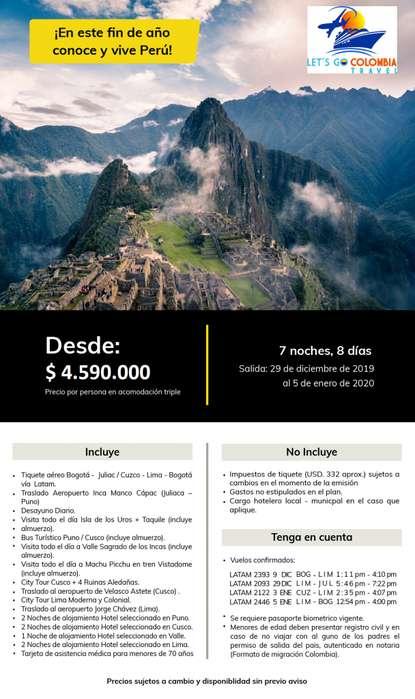 Perú Fin de Año