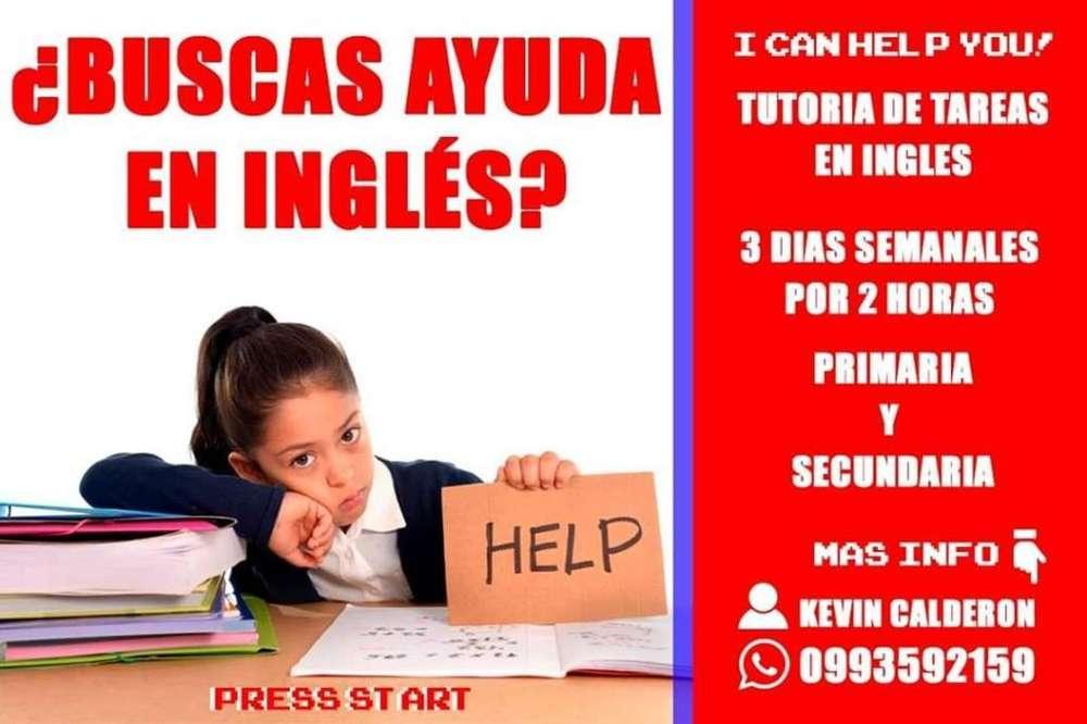 Tutorial de Tareas Escolares en Inglés