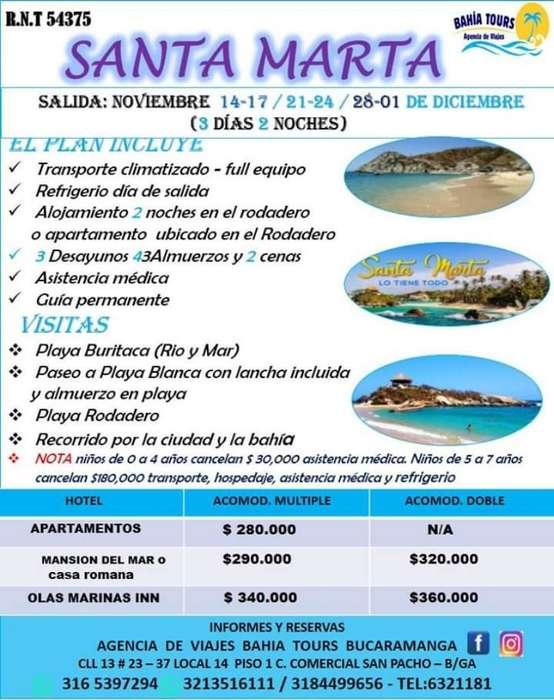 Tour Santa Marya 14 Noviembre