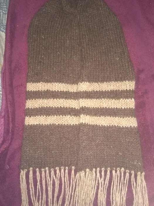 bufanda lana de llama pura, trabajo artesanal