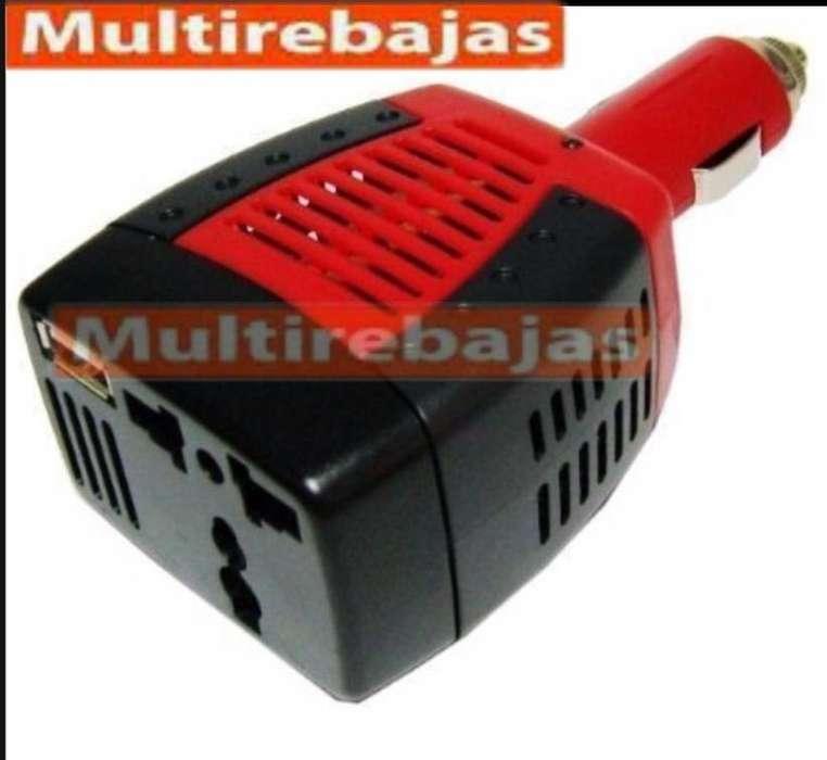 Inversor Convertidor De Corriente Para Auto 150w 12v 110v