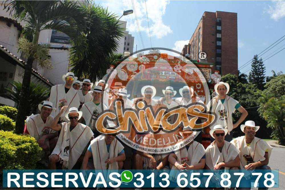 TURISMO EN CHIVAS MEDELLIN 3136578778