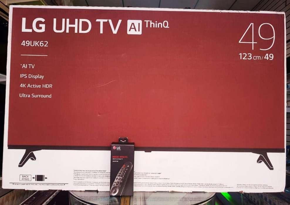 Televisor Lg Uhd 4k de 49 Pulgadas