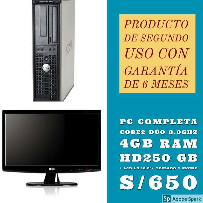 Computadoras Completas I3 I5 I7 Amd