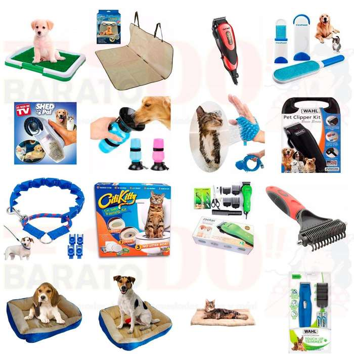 Accesorios para mascotas <strong>perro</strong>s gatos novedades de Tv cuidado adiestramiento CONTRA ENTREGA