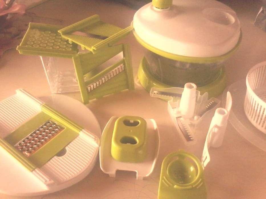 procesador ,totalmente manual ,pica bate centrífuga los vegetales ,raya ,sin uso ,liquido , 600
