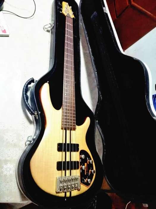 bajo Electronico Cort A5 Plus 5 Cuerdas