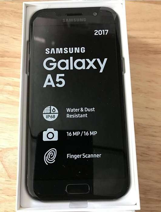 Vendo Galaxy A5 2017