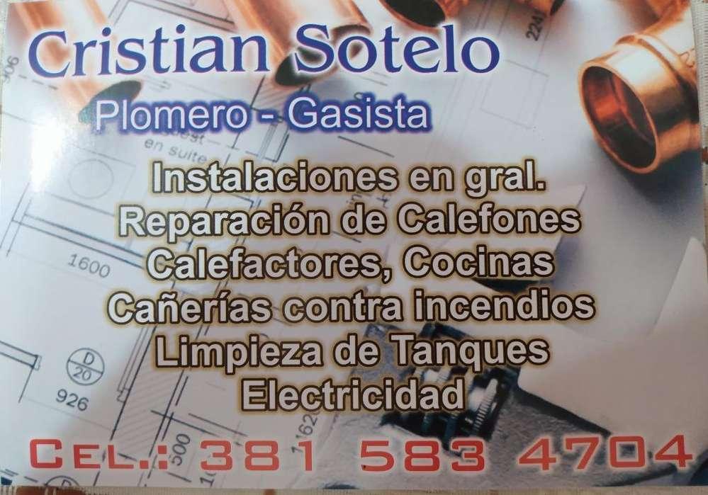 Plomero _ Gasista