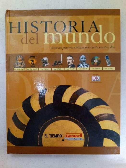 LIBRO HISTORIA DEL MUNDO .. Colecciones El Tiempo