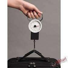 pesa maleta tipo reloj