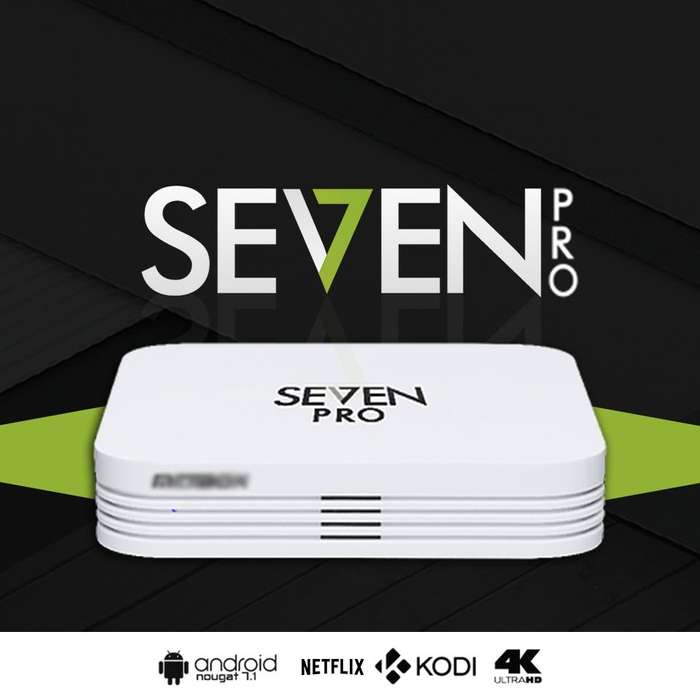 Tv Box Seven Pro, 2gb Ram, 16gb Rom, Android 7.1