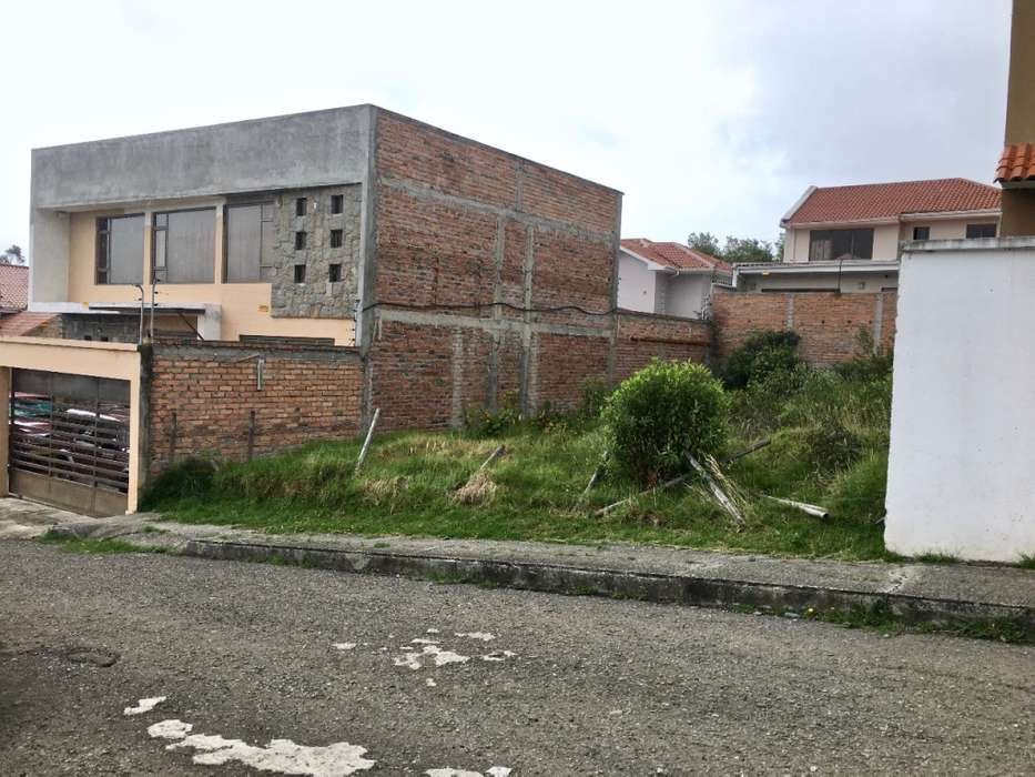 Lote ideal para construir, en Venta, Sector Iglesia de San Pedro