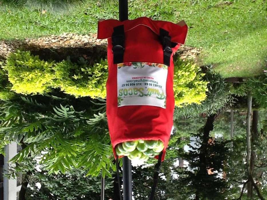 bolsos para recolectar frutas