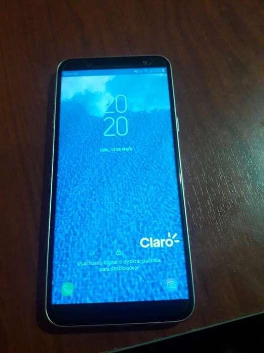 Vendo Samsung J6 Nuevo en Caja con Todos