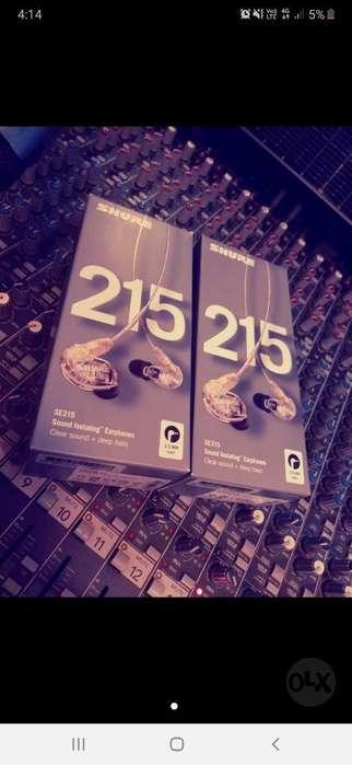 Audifonos Shure Se215