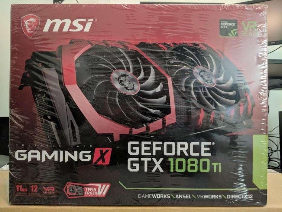 tarjeta de video msi Geforce gtx1080ti 11gb nueva