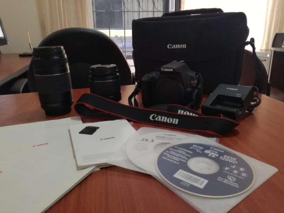 Canon Reflex T5 con Todos Los <strong>accesorios</strong>