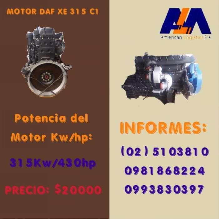 Motor DAF XE 315 C1