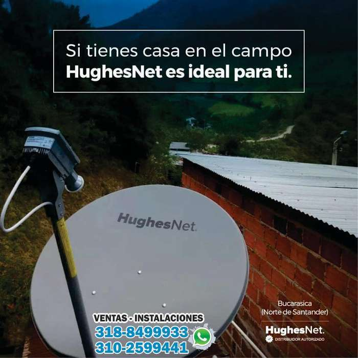 Hughesnet Internet Satelital Rural