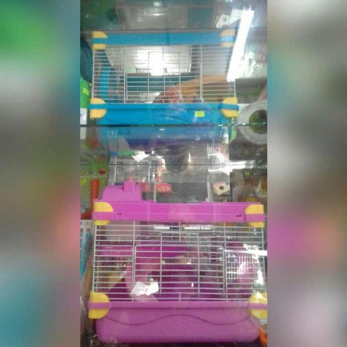 Jaulas para Hamster
