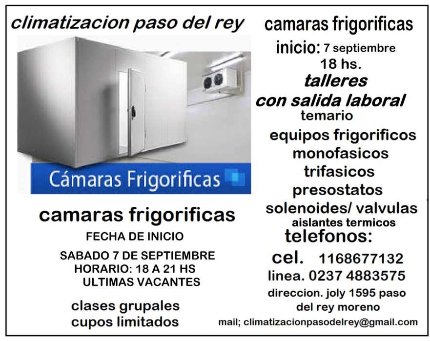 CURSO DE CAMARAS FRIGORIFICAS