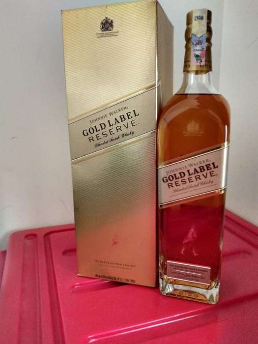 Whisky Johnnie Gold 1 Litro