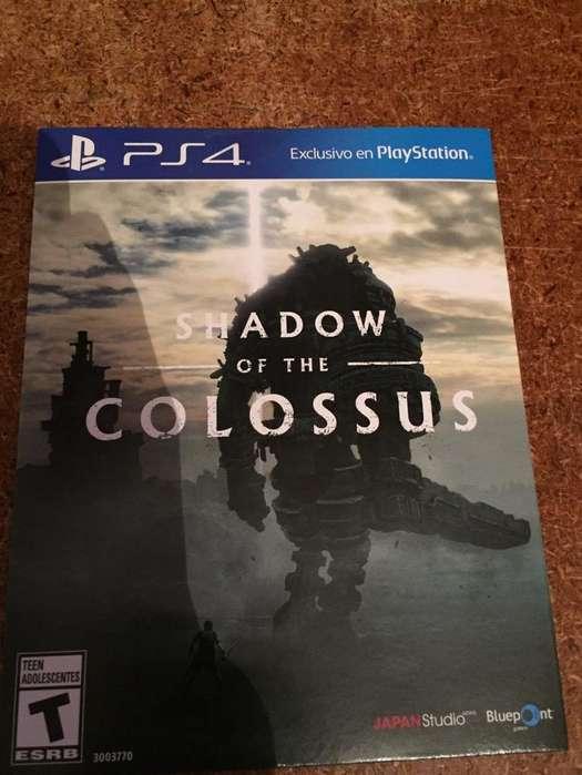 Shadow Of The Colossus Nuevo Sellado Ps4