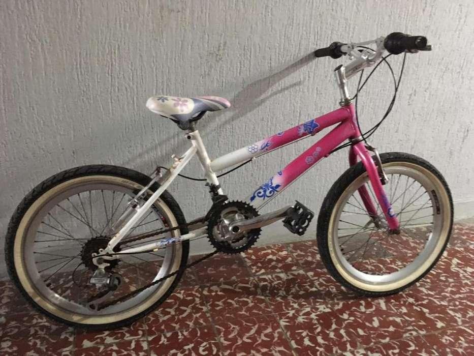 Bicicleta Shimano para Niña