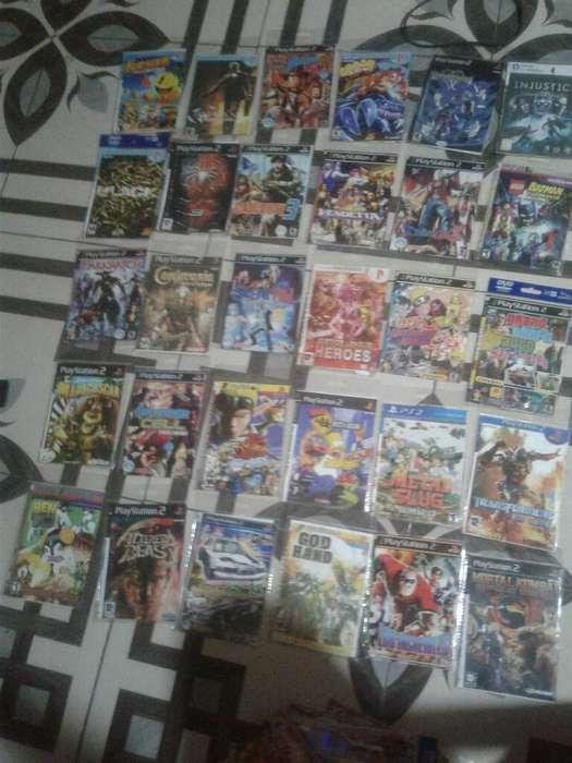 Vendo 43 Videojuegos de Ps2
