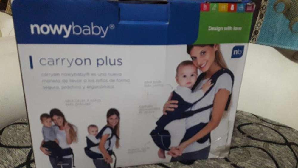 Mochila para Bebé 2 Usos Impecable