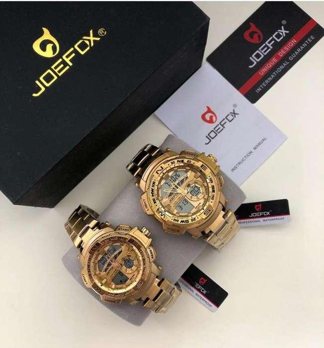 Reloj Joefox Original Pareja