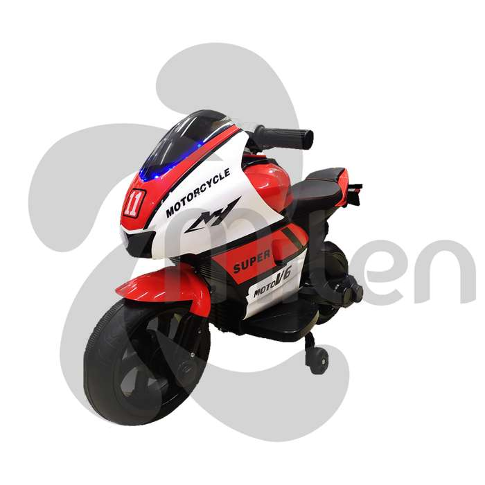 Mini Ducati, moto eléctrica niños montable, USB/SD Musica