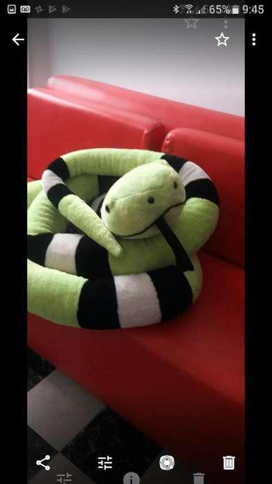 Serpiente de Peluche Excelente Calidad