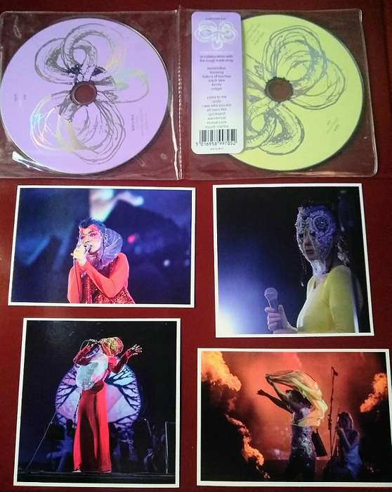 Björk Vulnicura Live 2 cd's (Edición Ltda) - Precio Especial