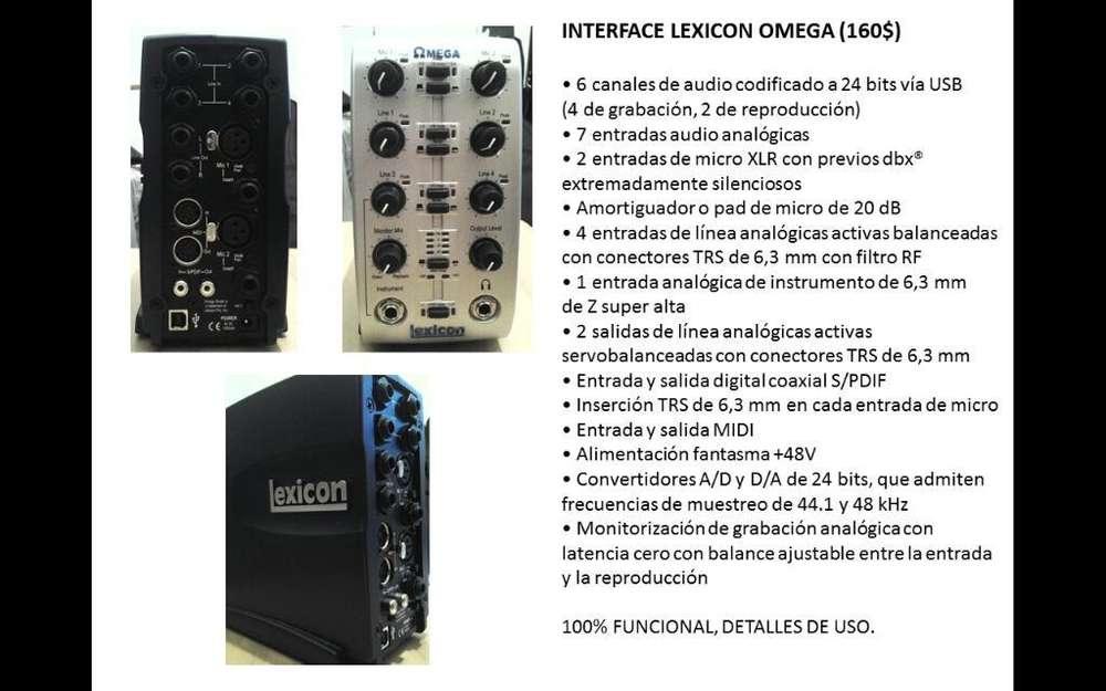 Interfaz Lexicon Omega