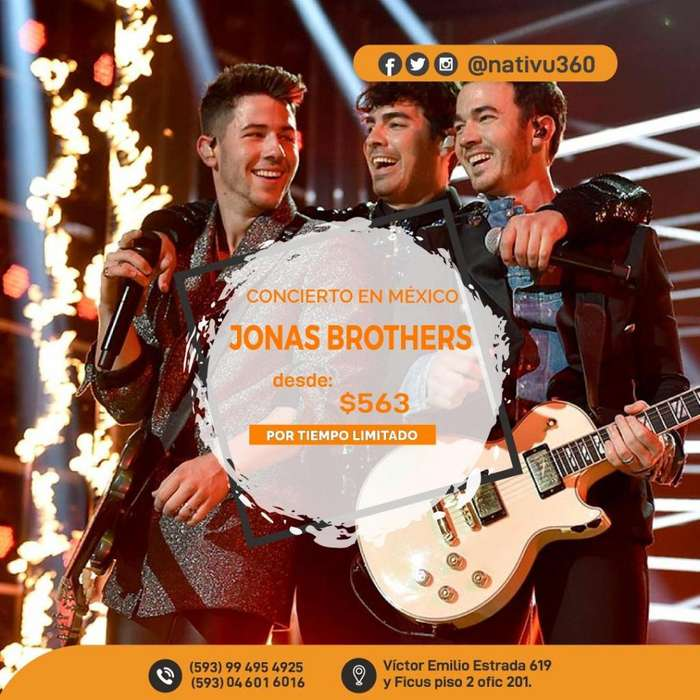 JONAS BROTHERS EN MEXICO !!!