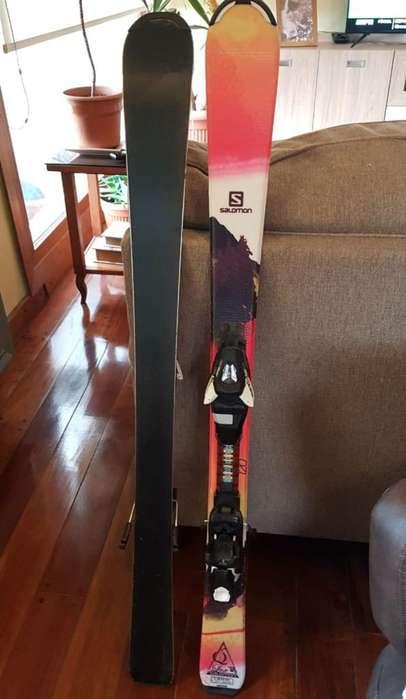 Tablas Ski fijaciones 1.20 Salomon