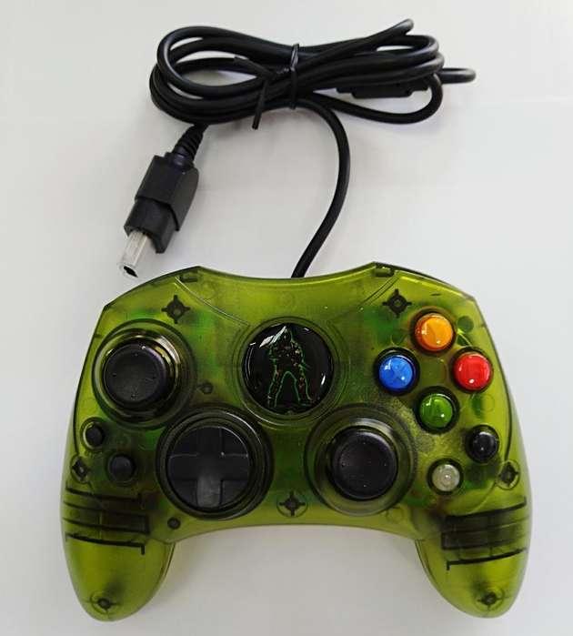 Control Xbox Clasico Verde Generico