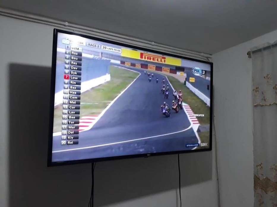 T.V 49 PULGADAS MARCA LG HD 4K-