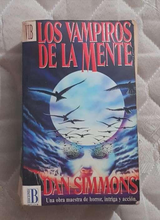 Los vampiros de la mente de Dan Simmons. Usado.