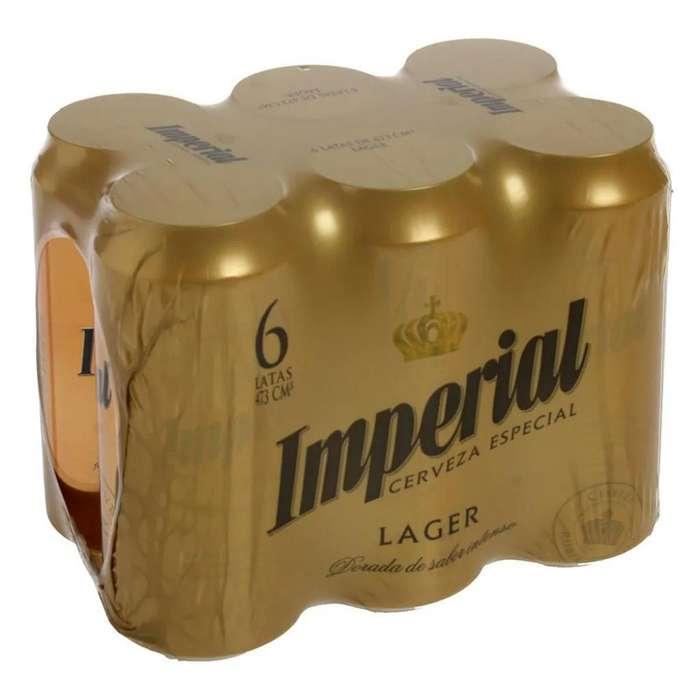 Cerveza Imperial Pack!