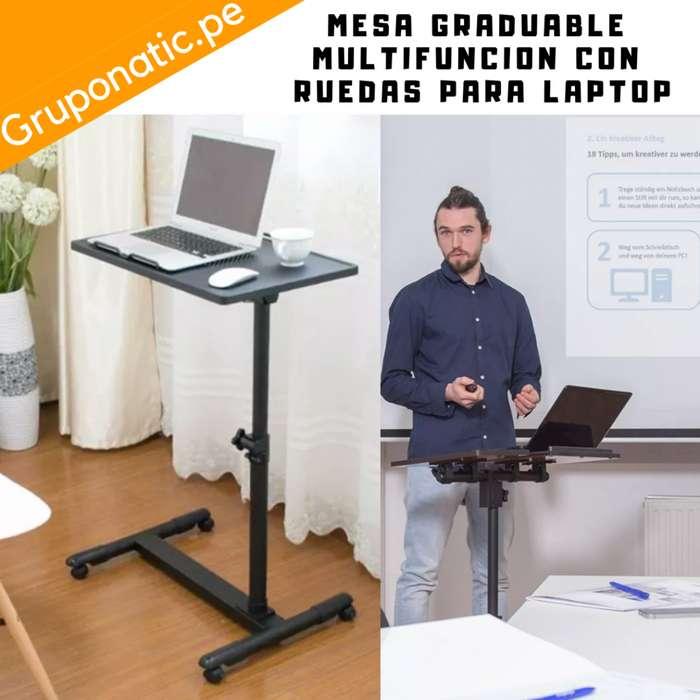 Mesa de Metal Graduable para laptop Gruponatic San Miguel Surquillo Independencia La Molina Whatsapp 941439370
