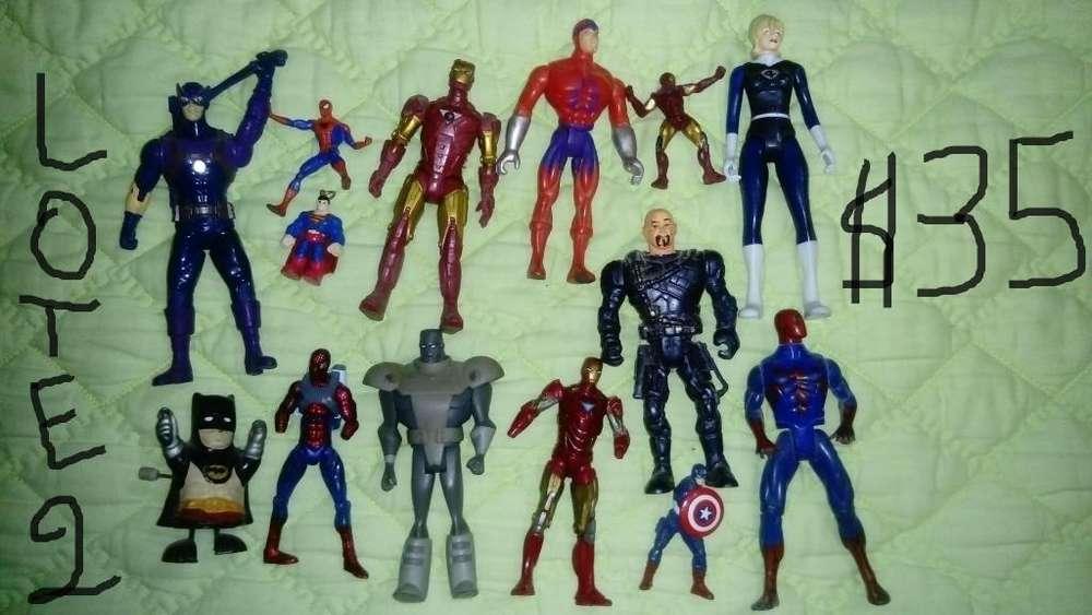 Lotes juguetes varios 1 colección coleccionistas kfc burguer king mcdonald figuras de acción ben10 dc marvel