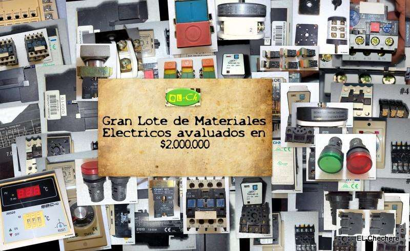 Lote de artículos eléctricos avaluados en aprox. 2.000.000