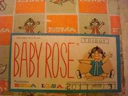 Muñeco Bebe Esma Baby Rose