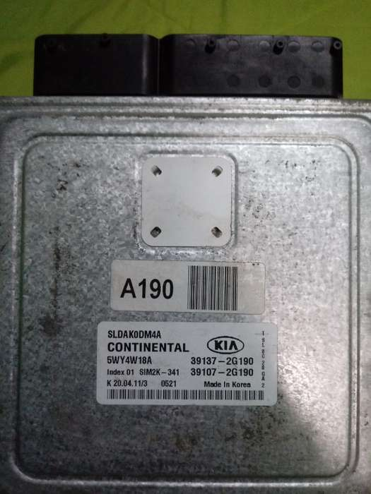Computadora Ecu Continental Kia